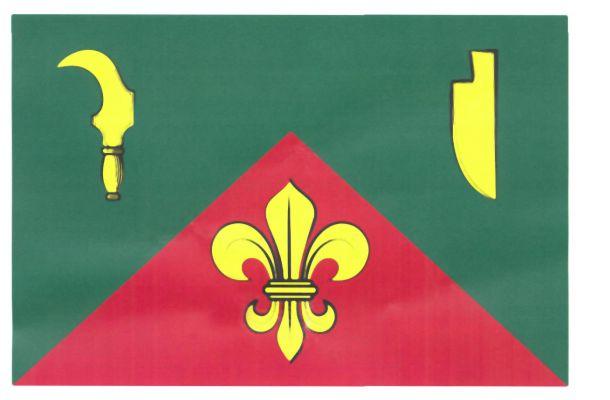 Kubšice - vlajka