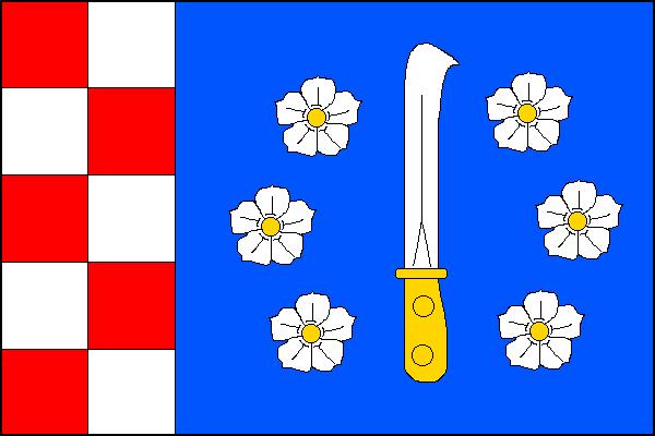 Kuchařovice - vlajka
