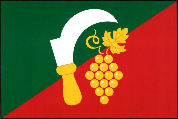 Kudlovice - vlajka