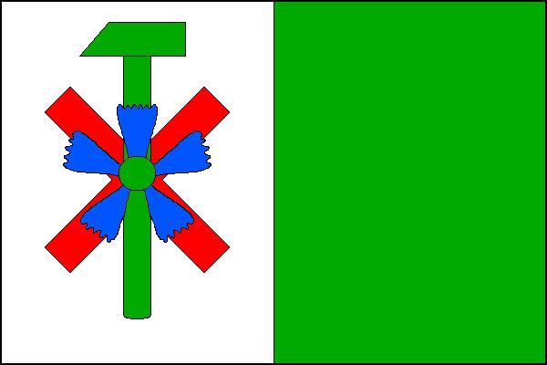 Kunčice pod Ondřejníkem - vlajka