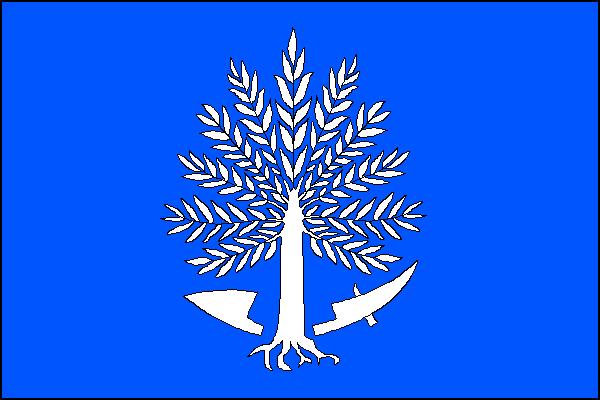 Kunín - vlajka