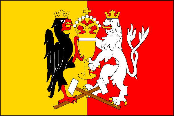 Kutná Hora - vlajka