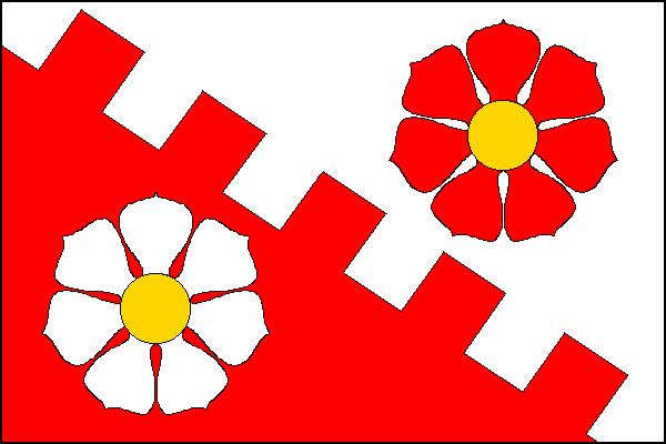 Květnice - vlajka
