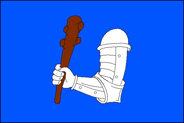 Kyjov - vlajka