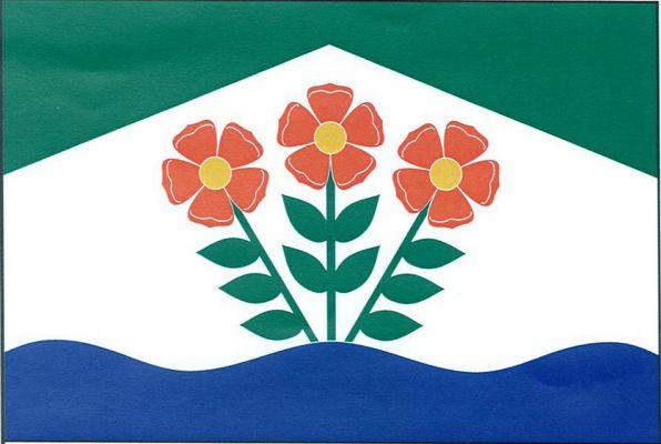 Kytín - vlajka
