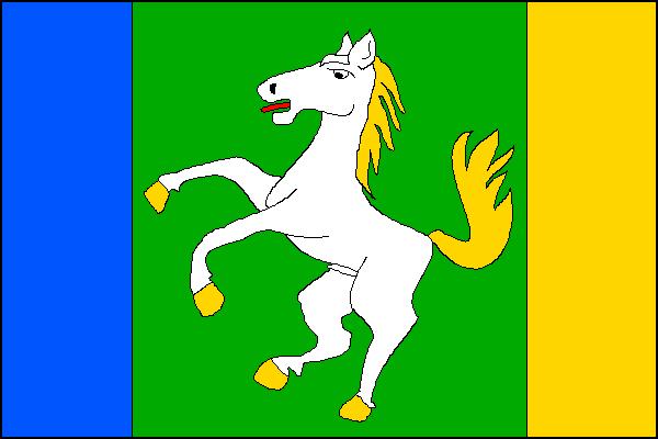 Lačnov - vlajka