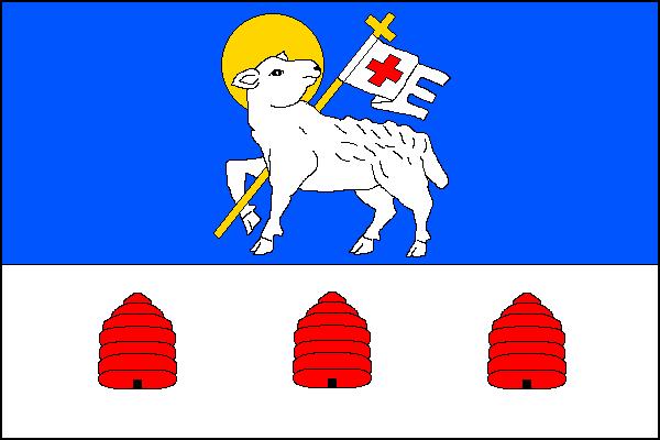 Lampertice - vlajka