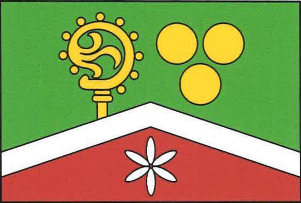 Lažiště - vlajka