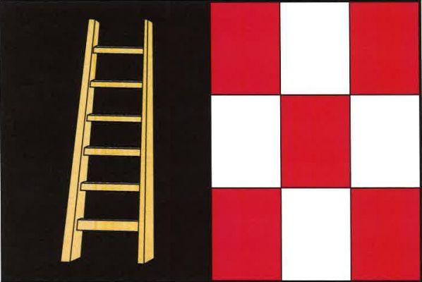 Lázně Bohdaneč - vlajka