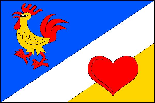 Lázně Libverda - vlajka