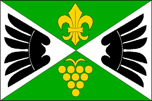 Lechovice - vlajka