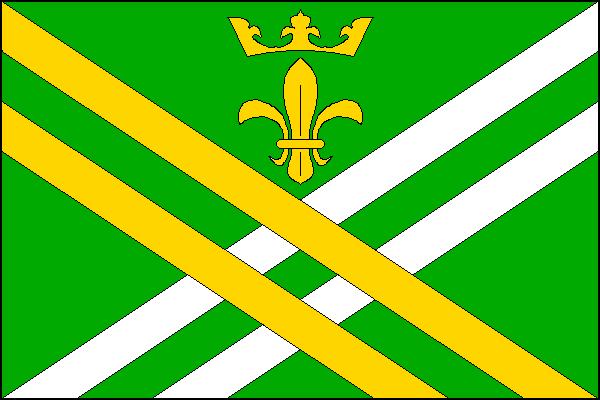 Lešany - vlajka