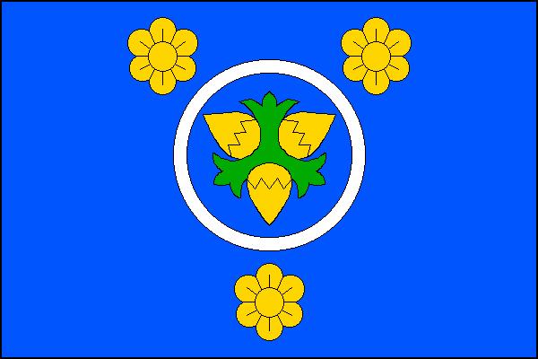 Leština - vlajka