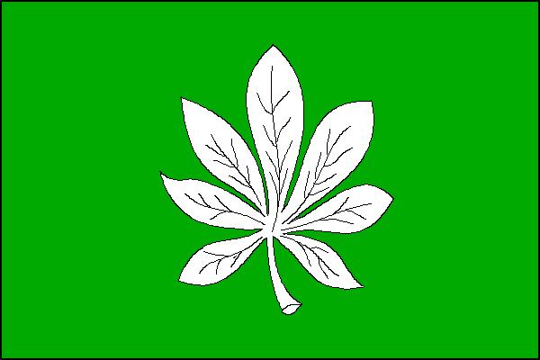 Lhota - vlajka