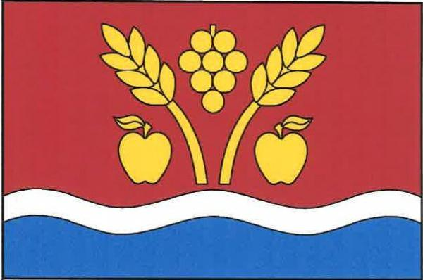 Lhotka nad Labem - vlajka