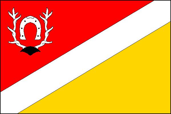 Libáň - vlajka