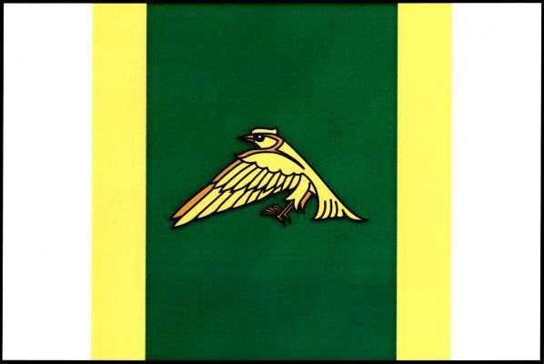 Libchavy - vlajka