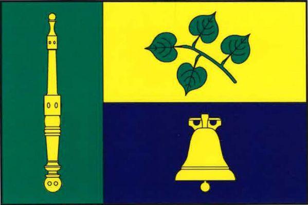 Liboměřice - vlajka