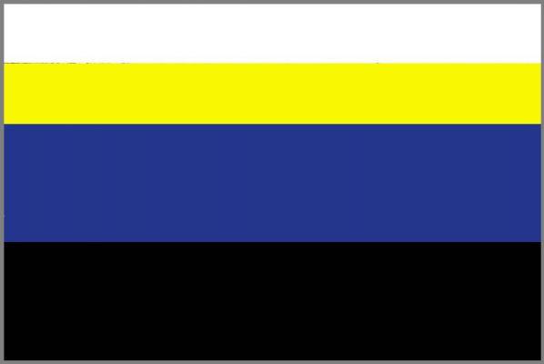 Libušín - vlajka