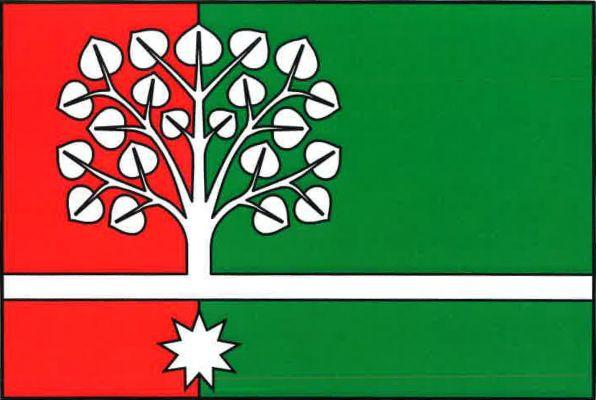 Lipovec - vlajka