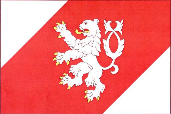 Lišov - vlajka