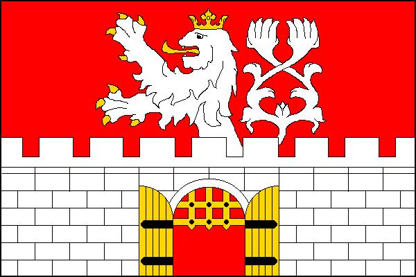 Litoměřice - vlajka