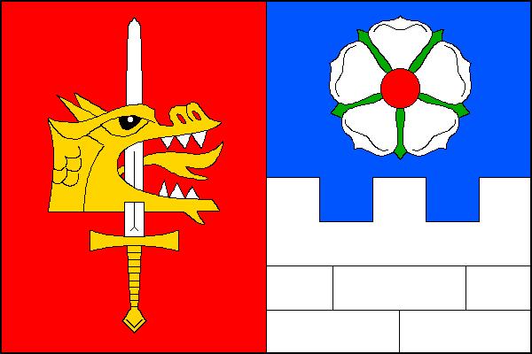Lošany - vlajka