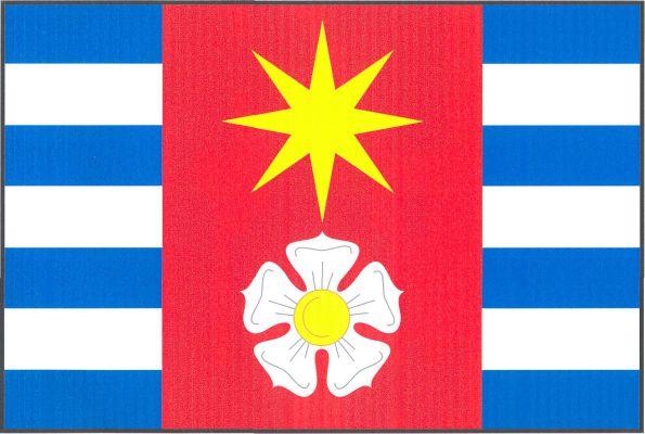 Losiná - vlajka
