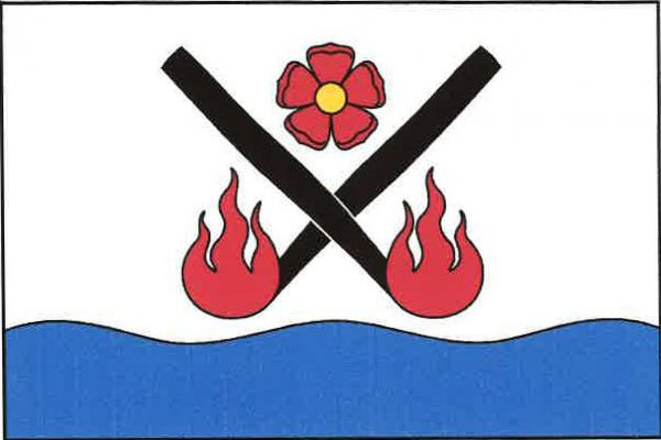 Loučovice - vlajka