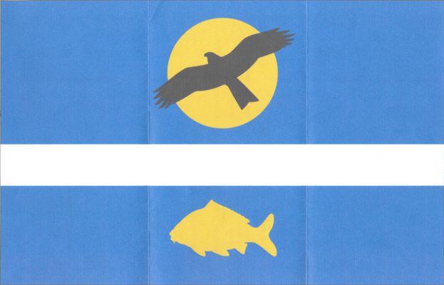 Louňovice - vlajka