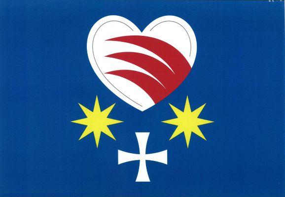 Ludkovice - vlajka