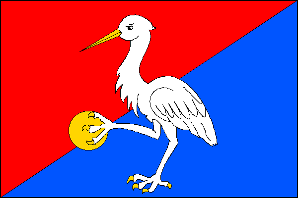 Luka nad Jihlavou - vlajka
