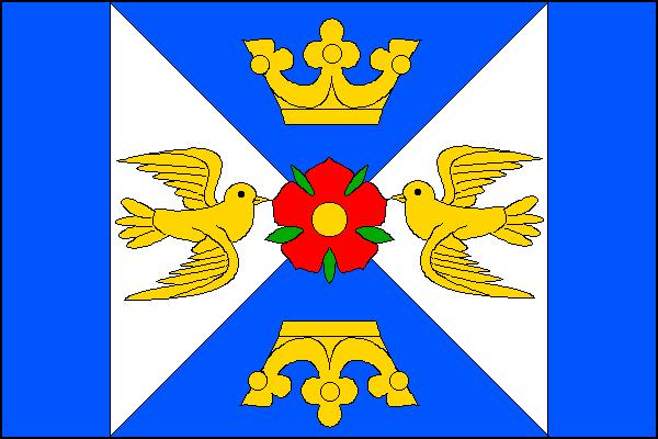 Lutonina - vlajka