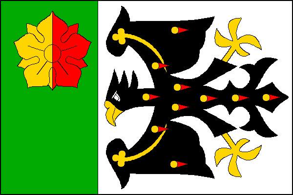 Mackovice - vlajka