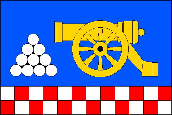 Malá Morávka - vlajka