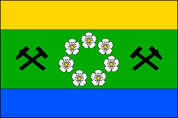 Malé Svatoňovice - vlajka