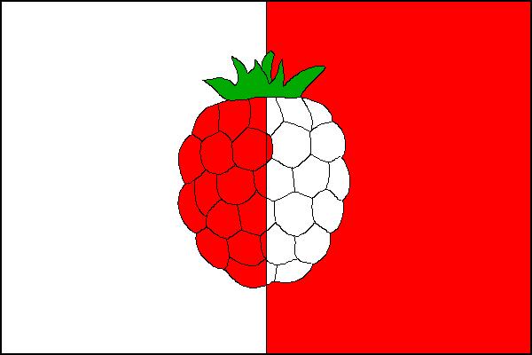 Malinová - vlajka