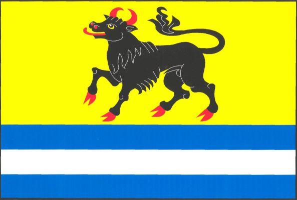 Měňany - vlajka