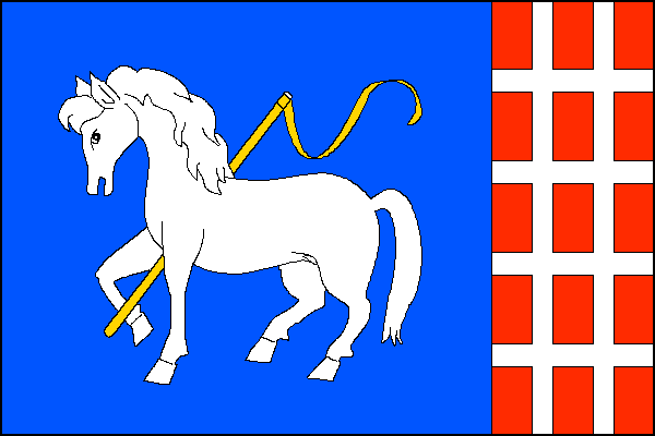 Metylovice - vlajka