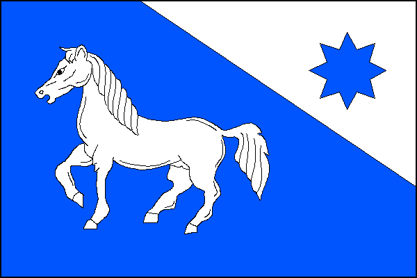 Mezina - vlajka
