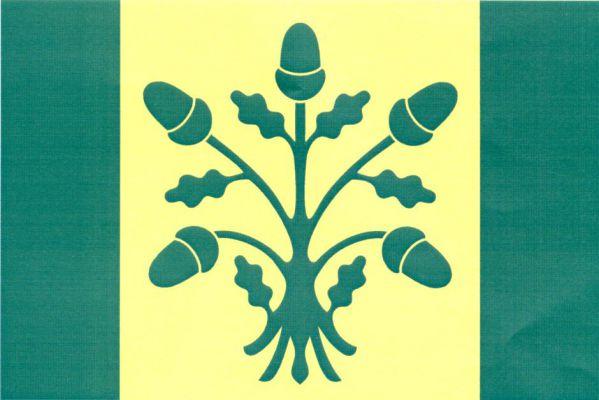 Mikulčice - vlajka