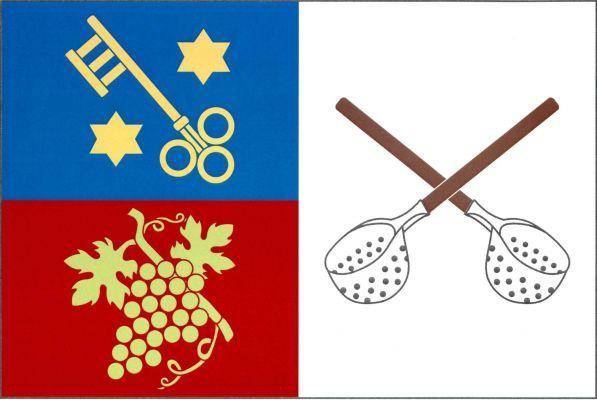 Mikulovice - vlajka