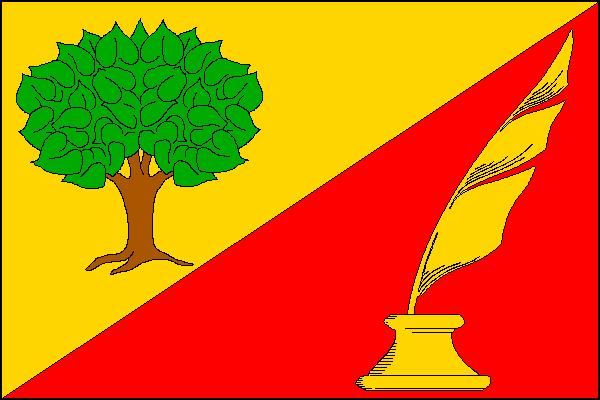 Milčice - vlajka