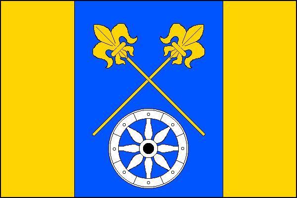Milíkov - vlajka