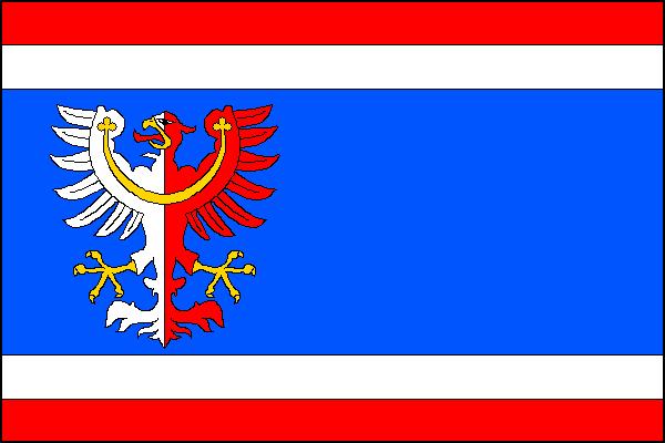 Milín - vlajka