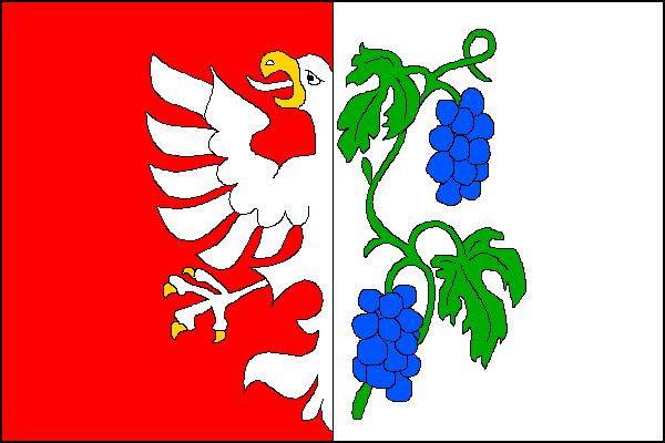 Miroslav - vlajka