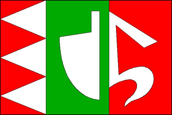 Mladějovice - vlajka