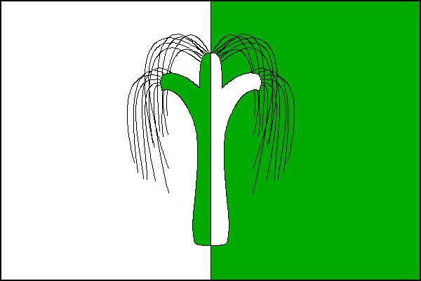 Mlečice - vlajka