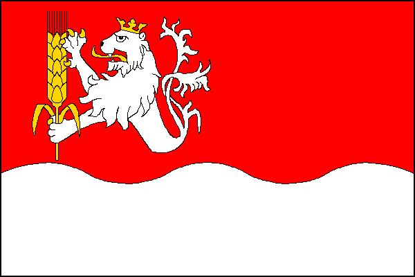 Mlékojedy - vlajka