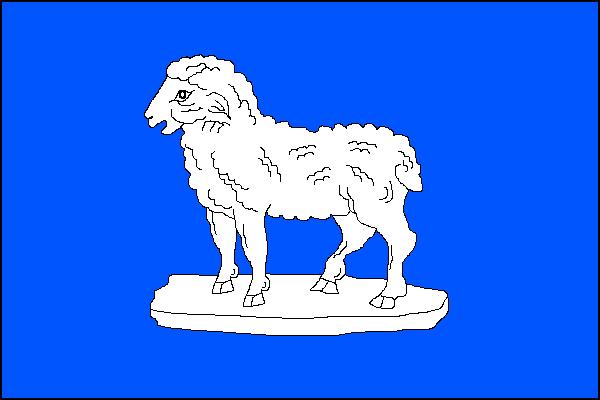 Modrá - vlajka